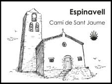 El nostre segell per als pelegrins a Santiago de Compostela