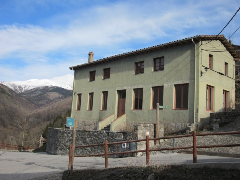 Edifici dels Estudis, seu del nou refugi