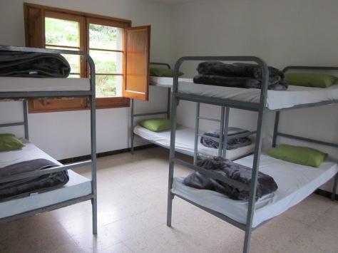 Dormitori verd, 20 places