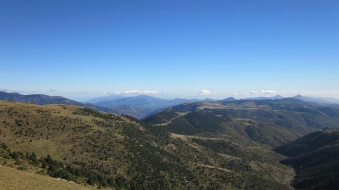 Carena entre Costabona i Coll Pregon