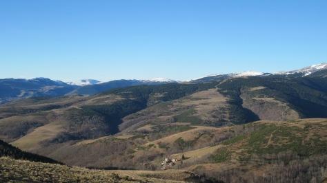 Des de la pista hi ha molt bones vistes de Fabert!