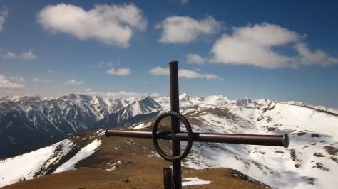 Vista des del cim de Costabona