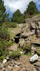 Entrada a la Mina del Turon